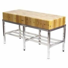 Butchers Block - 5ft by 2ft (150x60cm) With Stand