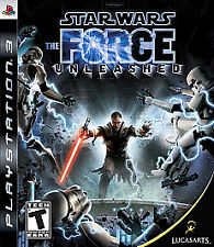 STAR WARS THE FORCE UNLEASHED PS3 NEW