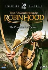 The Adventures of Robin Hood-Complete First Season (DVD, 4-Disc Set) SEALED