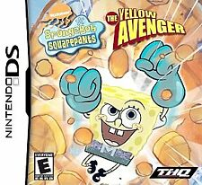 SpongeBob SquarePants: The Yellow Avenger DS Authentic Cartridge Only US English
