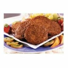 Odoms Tennessee Pride Fully Cooked Trimmed No Msg Formed Sausage Patty, 12 Pound
