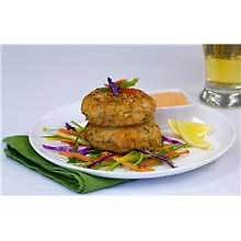 King and Prince Gourmet Seafood and Crab Cake, 3 Ounce -- 4 per case.