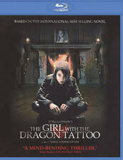The Girl With the Dragon Tattoo Blu-ray Disc 2010 Noomi Rapace Wide Screen