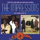 THE IMPRESSIONS CHECK OUT YOUR MIND TIMES HAVE CHANGED CD 2 ALBUMS FREE UK POST