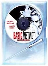 Basic Instinct (DVD, 2001, Unrated Director's Cut) Includes Ice Pick Pen!