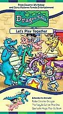 Dragon Tales: - Let's Play Together (VHS Brand New!!