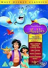 Aladdin (DVD, 2008) DISNEY DVD +LYRIC BOOK