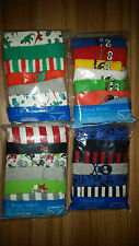 Boys briefs. Pack of 7. 100% cotton. Random colours. NEW. Ages 2-10  25 inches