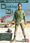 BREAKING BAD Complete Series 1 First Season DVD 3 Discs (2009) NEW & SEALED