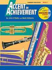 Accent on Achievement, Book 1: Percussion: Combined Percussion---S.D., B.D., Acc