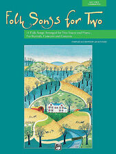 Folk Songs for Two: Voice Sheet Music