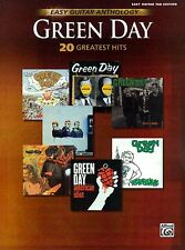 Green Day Easy Guitar Anthology (20 Greatest Hits) (Book): Easy Guitar Sheet