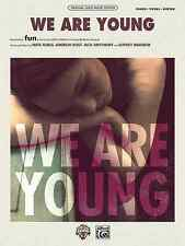 We Are Young: Piano, Vocal, Guitar Sheet Music: and fun.Janelle Monae