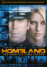 Homeland: The Complete First Season 1 (DVD, 2012, 4-Disc Set) New
