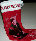 Justin Bieber Holiday Present Gift Xmas Decoration Picture Photo Stocking Pop