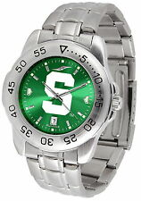 Michigan State Spartans Watch Anochrome Color Dial Ladies or Mens