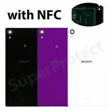 Genuine Original Sony Xperia Z1 Rear Glass Back Panel Battery Cover C6902 C6903