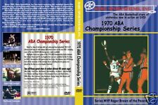 1970 ABA Basketball Finals, Pacers vs L.A. Stars DVD!
