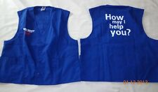 1 New Best Unisex Vest / Top Royal Blue Uniform Walmart Size XXLarge