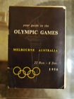 Programme (guide) Olympic Games MELBOURNE 1956 - RARE!!!