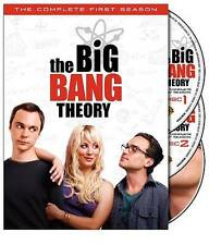 Big Bang Theory The Complete First Season 1 (DVD, 2008, 3-Disc Set)