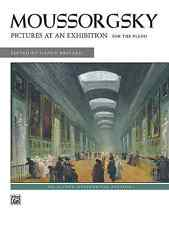 Mussorgsky -- Pictures at an Exhibition: Piano Solo Sheet Music