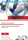 WAHLER EGR VALVE CATALOGUE 17 PAGES No pictures or x/ref