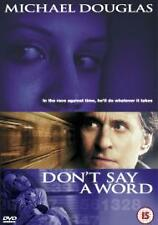 Don't Say A Word (DVD, 2004)