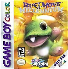 Bust-A-Move Millennium (Nintendo Game Boy Color, 2000)
