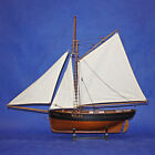 SPAIN WOODEN MODEL SHIP SAILING BOAT