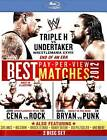 WWE: Best Pay-Per-View Matches 2012 (Blu-ray Disc, 2012, 2-Disc Set) LIKE NEW