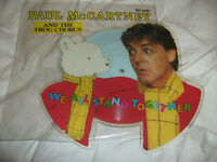 THE BEATLES PAUL MCCARTNEY WE ALL STAND TOGETHER SHAPED PICTURE DISC 7 INCH