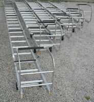 TRADE ROOF LADDERS, SINGLE SECTION & DOUBLE EXTENDING FOR PROFESSIONAL BUILDERS