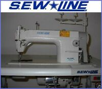 SEW*LINE  DDL-8500 COMPLETE ALL-NEW-UNIT W/110V  MOTOR INDUSTRIAL SEWING MACHINE