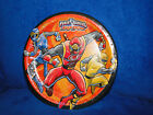 """NEW PARTY EXPRESS POWER RANGERS 8 3/4"""" PLAST COAT PLATE"""