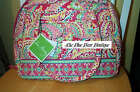 Vera Bradley Retired Capri Melon Bowler Bag