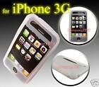 CLEAR SILICONE SKIN CASE COVER for IPHONE 3GS 3G S 16GB