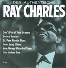 """7""""-Single-EP RAY CHARLES - The Authentic Ray Charles (1962) GERMANY PS"""