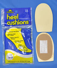 Heel Cushions Sponge Rubber- NEW IN BAG