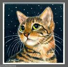 LIMITED EDITION BENGAL CAT PRINT FROM ORIGINAL PAINTING BY SUZANNE LE GOOD