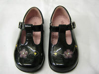 *SALE* Girls Startrite Shoes In Black Patent Leather 'Tilly' G Fit