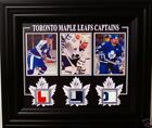 SITTLER-GILMOUR-CLARK GAME USED STICK FRAMED 8x10 W/COA