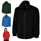 Ladies Full Zip Classic Fleece Jackets Size 8 to 30 WORK CASUAL SPORTS - 604