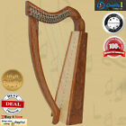 Nylon Gut String Harp,19 strings, C to F With Case and Learning Book