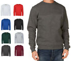 Mens Plain Classic Sweatshirts Size XS to 4XL WORK CASUAL SPORTS SWEATSHIRT 203