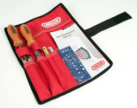 """Oregon Chainsaw Sharpening Kit 3/16"""" with easy-carry Pouch"""