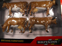 BRITAINS FARMS TOY COWS FARMYARD ANIMALS SCALE 1:32 CATTLE  MODEL JERSEY CATTLE