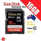 SanDisk 16GB Extreme PRO SD UHS-I 95MB/s HD Video SDHC Memory Card Class 10 16G