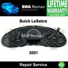 2001 Buick LeSabre Instrument Cluster Repair Dash 01 Gauges Dashboard Odometer