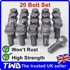 20 x ALLOY WHEEL BOLTS FOR VW TRANSPORTER T4 T5 M14x1.5 / 17MM HEX LUG NUTS [W7]